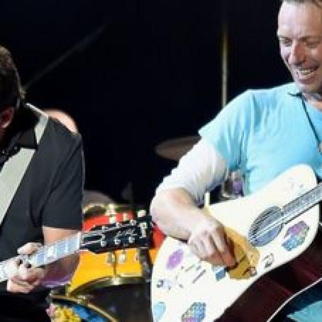 Michael J Fox duetta con i Coldplay