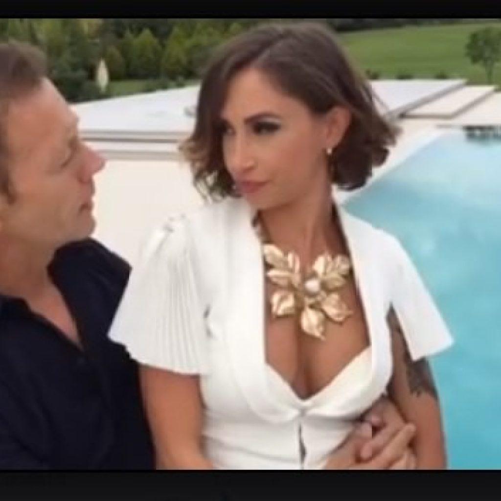 Rocco Siffredi e la sua Malena dalla politica al porno