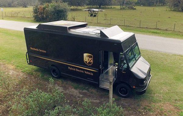 UPS testa un metodo innovativo per le consegne via droni autonomi