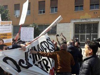 Roma, disordini all'Università La Sapienza