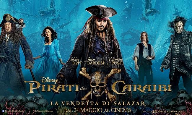 Pirati dei Caraibi, tornano sul grande schermo dal 24 maggio