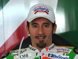 Max Biaggi torna a casa dopo l'incidente sul circuito del Sagittario