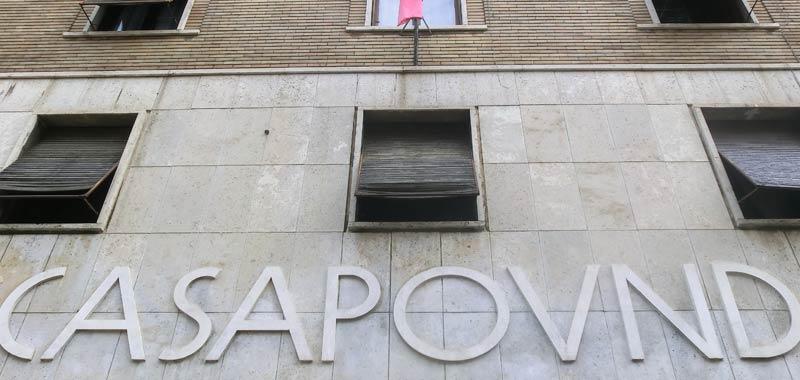 Casapound si scioglie solo come partito politico