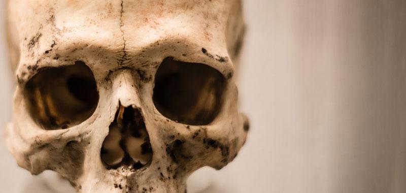 Roma scheletro millenario spunta dagli scavi della metro