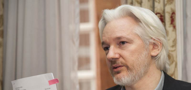 Julian Assange non sara processato per stupro in Svezia