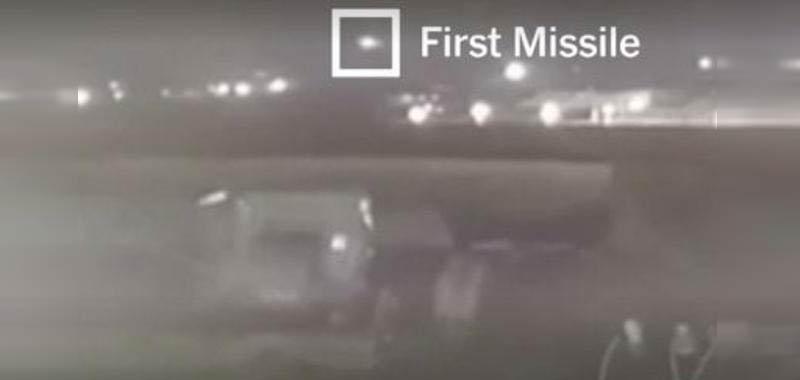 Iran, video mostra missili abbattere l'aereo iraniano