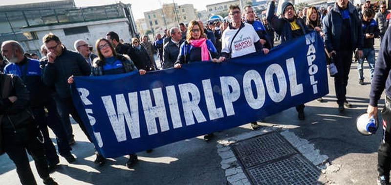 Whirlpool niente da fare per lo stabilimento napoletano