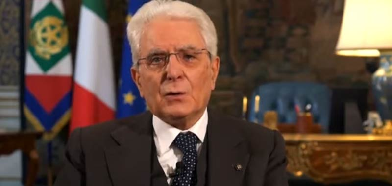 Il Presidente Mattarella prova a tranquillizzare gli italiani