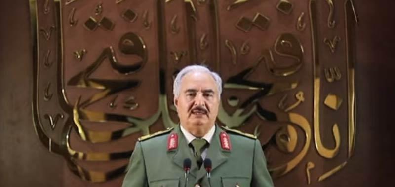 In Libia Haftar si proclama capo dello stato