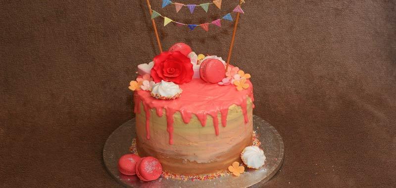 Voi amate la drip cake
