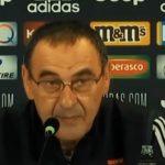 Juve, il futuro di Sarri passa per il match contro l'Atalanta