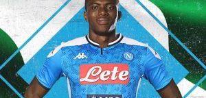Victor Osimhen il nuovo attaccante del Napoli