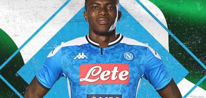 Victor Osimhen è il nuovo attaccante del Napoli