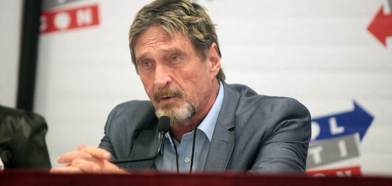 McAfee il capo azienda arrestato per evasione fiscale