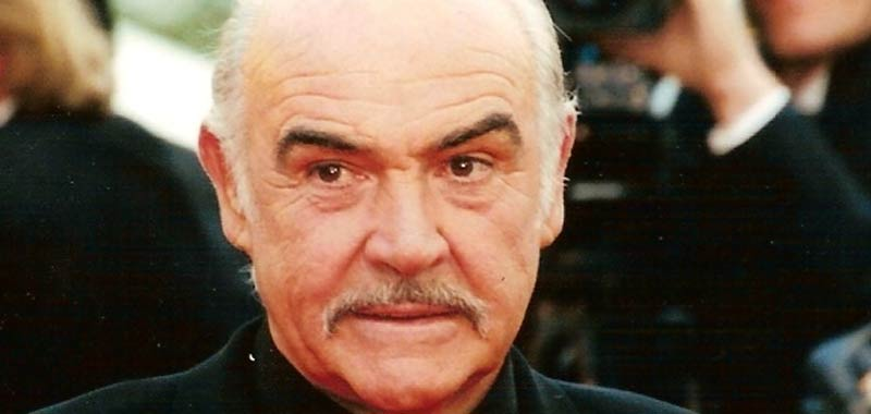 Sean Connery certificato di morte conferma polmonite ed insufficienza cardiaca