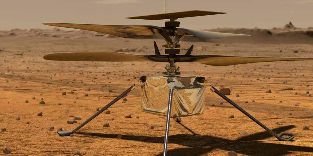 Nasa: Il primo elicottero che volerà su Marte