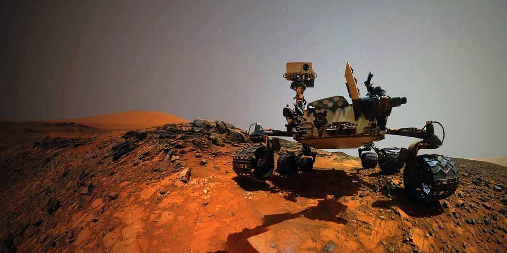 fonte di metano su Marte vicino al rover curiosity