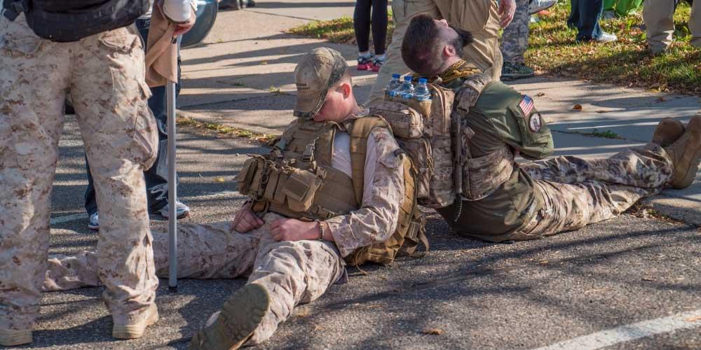 un sistema militare per dormire piu velocemente